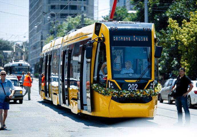Презентация трамвая немецкой фирмы Stadler